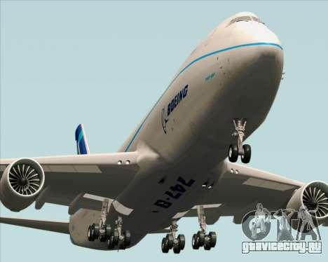 Boeing 747-8 Cargo House Livery для GTA San Andreas вид справа