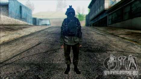 Солдат ВДВ (CoD: MW2) v1 для GTA San Andreas