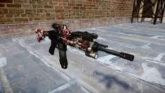 Автоматический карабин Colt M4A1 bloodshot для GTA 4