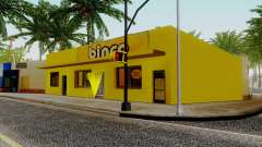 Новые текстуры для Binco на Гроув-стрит для GTA San Andreas