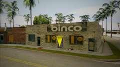Разбитый магазин Binco