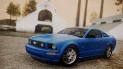 Ford Mustang GT 2005 v2.0 для GTA San Andreas