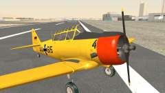 North American T-6 TEXAN AA615 для GTA San Andreas