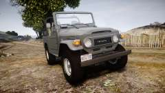Toyota FJ40 Land Cruiser Soft Top 1978