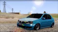 Dacia Logan BS GARAGE для GTA San Andreas