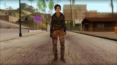 Tomb Raider Skin 6 2013 для GTA San Andreas
