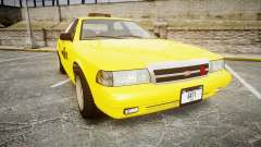 GTA V Vapid Taxi NYC