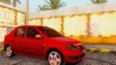 Dacia Logan Delta Garage для GTA San Andreas
