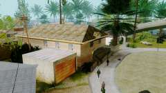 Новые текстуры домов на Гроув-стрит