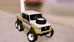 Benefactor Dubsta 6x6 для GTA San Andreas