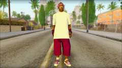 East Side Ballas Skin 1 для GTA San Andreas