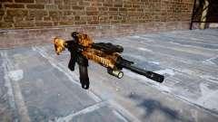 Автоматический карабин Colt M4A1 elite для GTA 4