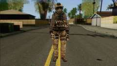 Task Force 141 (CoD: MW 2) Skin 13 для GTA San Andreas