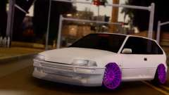 Honda Civic EF9 V-Tech Camber Style для GTA San Andreas
