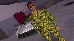 Camo Skin 07 для GTA Vice City