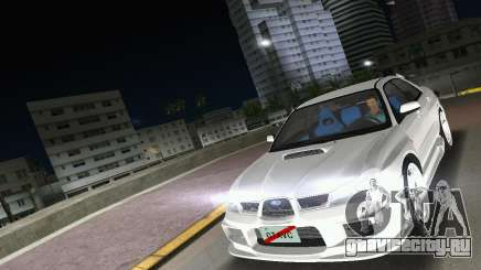 Subaru Impreza WRX STI 2006 Type 3 для GTA Vice City