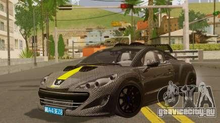 Peugeot RCZ GTS 2010 Tuned v2.0 для GTA San Andreas