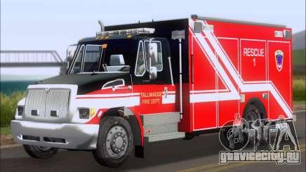 Pierce Commercial TFD Rescue 1 для GTA San Andreas
