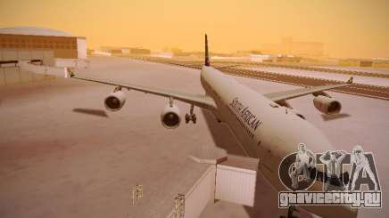 Airbus A340-600 South African Airways для GTA San Andreas