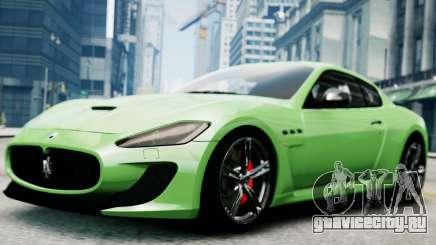 Maserati Gran Turismo MC Stradale 2014 для GTA 4