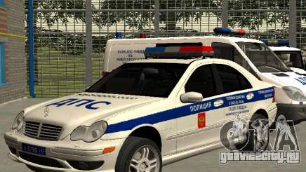 Мерседес Дпс для GTA San Andreas