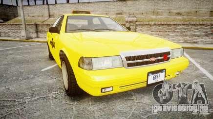 GTA V Vapid Taxi NYC для GTA 4