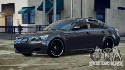 BMW M5 E60 v1 для GTA 4