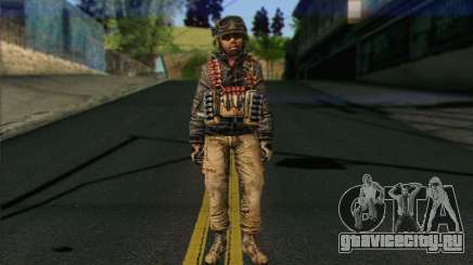 Task Force 141 (CoD: MW 2) Skin 16 для GTA San Andreas