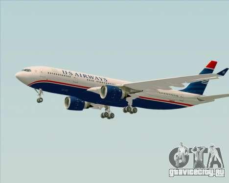 Airbus A330-200 US Airways для GTA San Andreas вид снизу
