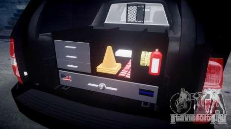 Chevrolet Suburban [ELS] Rims2 для GTA 4 вид изнутри