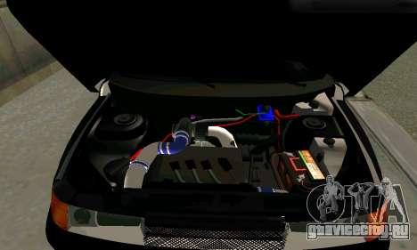 ВАЗ 21123 Черныш для GTA San Andreas вид сзади слева