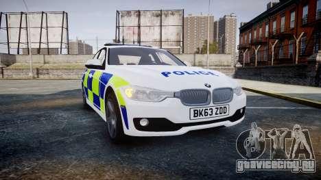 BMW 335i 2013 Central Motorway Police [ELS] для GTA 4