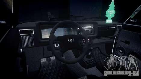 ВАЗ-2107 Италия для GTA 4 вид сзади