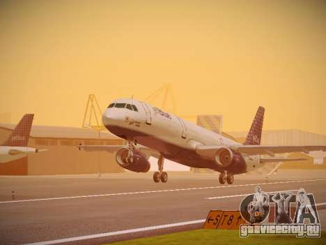 Airbus A321-232 jetBlue Woo-Hoo jetBlue для GTA San Andreas