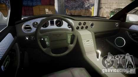 Bentley Arnage T 2005 Rims4 для GTA 4 вид сзади