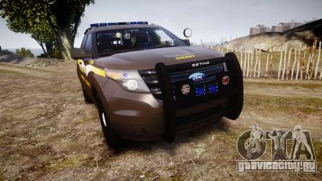 Ford Explorer 2013 Sheriff [ELS] Virginia для GTA 4