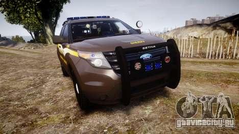 Ford Explorer 2013 Sheriff [ELS] Virginia для GTA 4