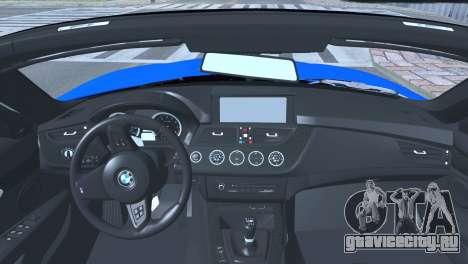 BMW Z4 sDrive28i 2012 Stock для GTA San Andreas вид сзади слева