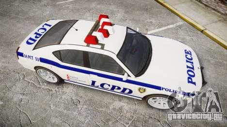Bravado Buffalo Police для GTA 4 вид справа