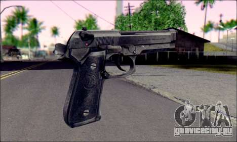 Beretta M92F для GTA San Andreas второй скриншот