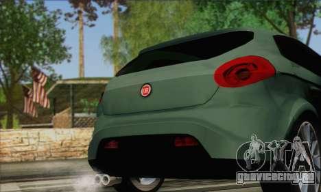 Fiat Bravo 2 для GTA San Andreas вид сзади слева