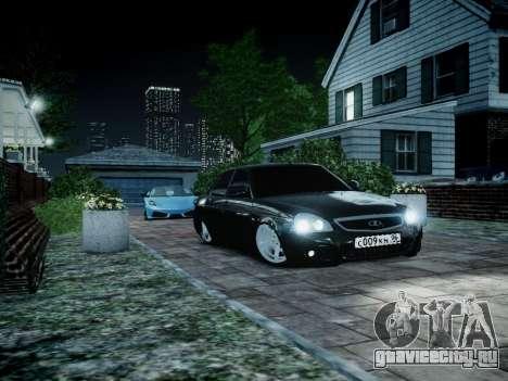 ВАЗ 2170 для GTA 4 вид слева