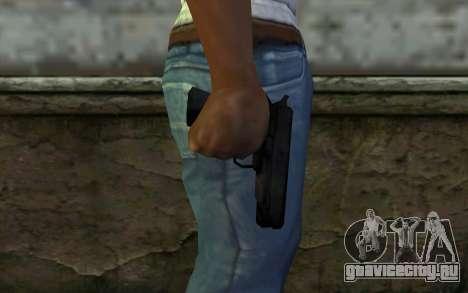 Pistol from Cutscene для GTA San Andreas третий скриншот