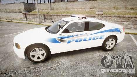 Dodge Charger 2010 PS Police [ELS] для GTA 4 вид слева