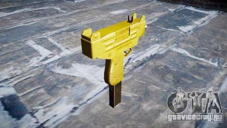 Golden Uzi для GTA 4 второй скриншот
