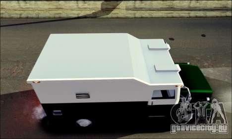 Shubert Armored Van from Mafia 2 для GTA San Andreas вид сзади слева