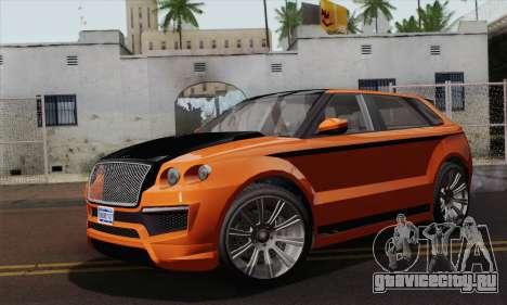 Huntley S (IVF) для GTA San Andreas