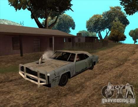 Постапокалиптический Buccaneer для GTA San Andreas