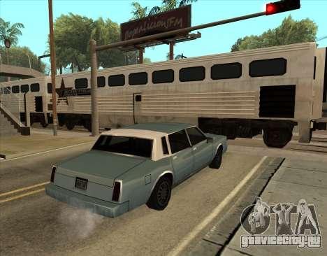 Tahoma Restyle для GTA San Andreas вид слева