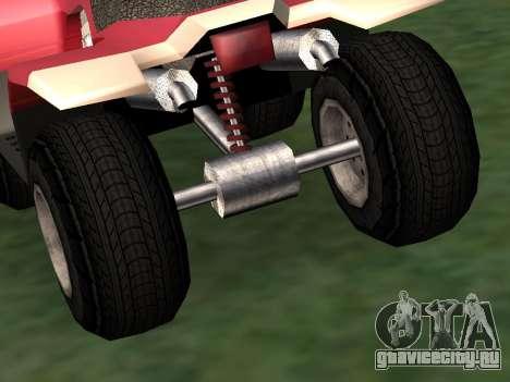 Обновлённый Quad для GTA San Andreas вид справа
